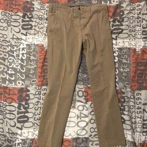 Men's express khaki pants